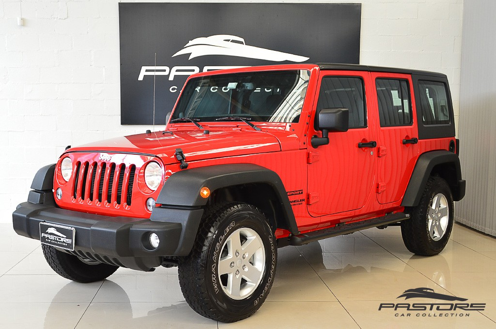 Jeep Wrangler Unlimited Sport 2014 Pastore Car Collection